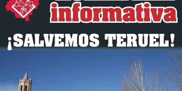 Asamblea informativa  ¡SALVEMOS TERUEL! 12 de Abril