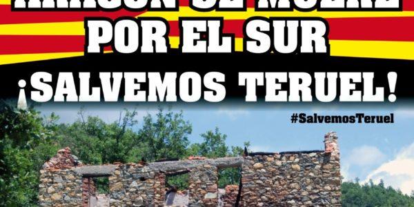 ¡SALVEMOS TERUEL juntos! el 6 de Mayo Manifestación en Zaragoza