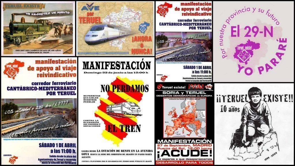 Carteles Teruel Existe