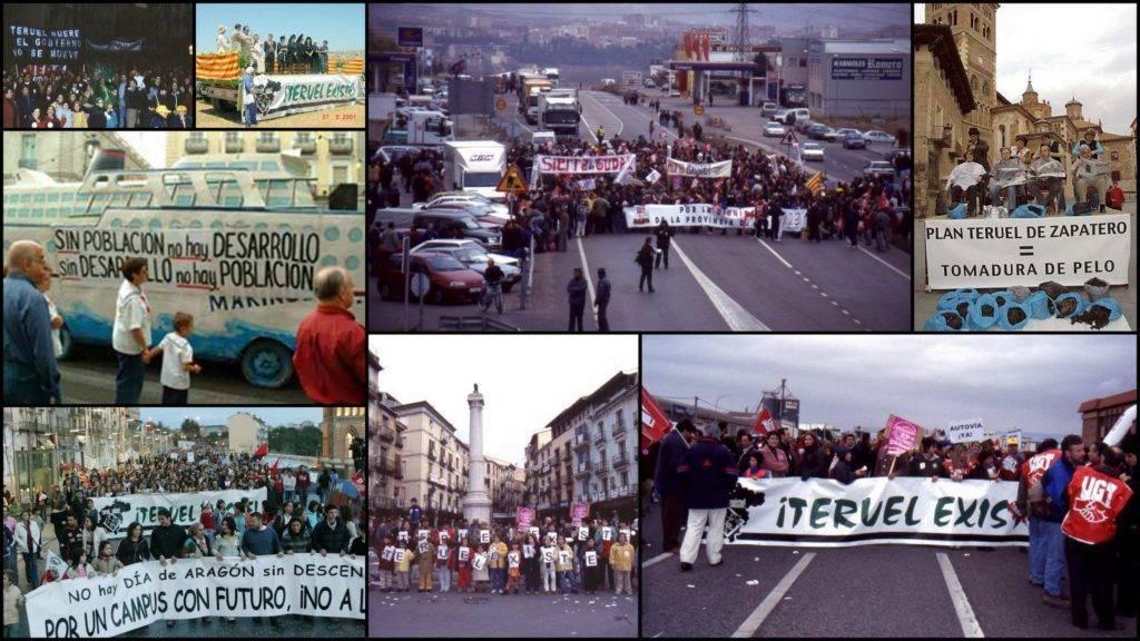 Movilizaciones Teruel Exsite