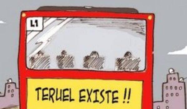 Autobuses y Tren ¡Salvemos Teruel! para ir a la manifestación en Zaragoza