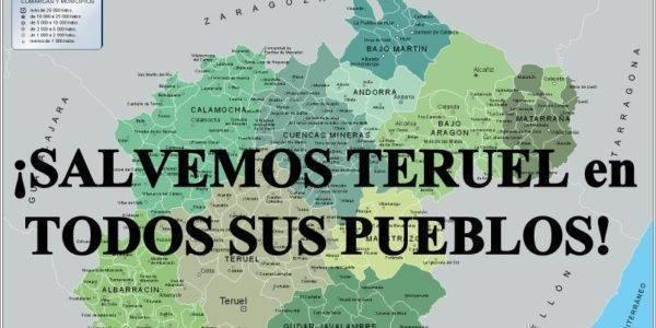 SALVEMOS TERUEL en todos los pueblos de la provincia el 6M. 11 h