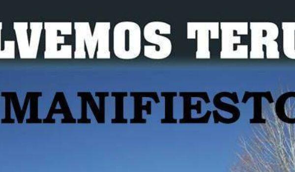 MANIFIESTO ¡¡SALVEMOS TERUEL!!