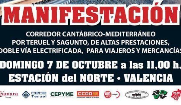 Toda la Información para la Manifestación #NoPierdaselTren.