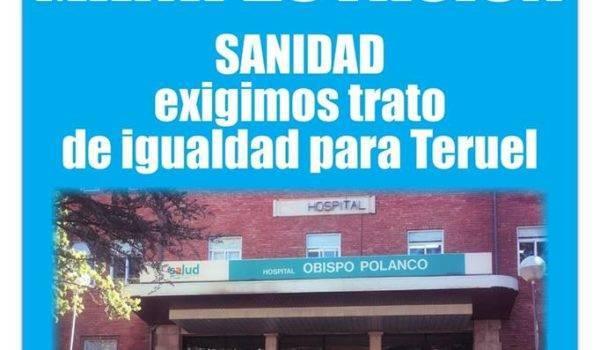 Manifestación por la Igualdad en la Sanidad con Teruel