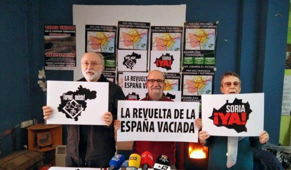Teruel Existe, Soria YA y otras plataformas del medio rural convocan la Revuelta de la España Vaciada