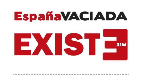 Carteles la España Vaciada EXISTE y tu pueblo también