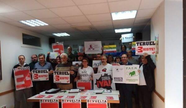 La España Vaciada se une para exigir Igualdad, Vertebración y Equilibrio territorial el 31 de marzo