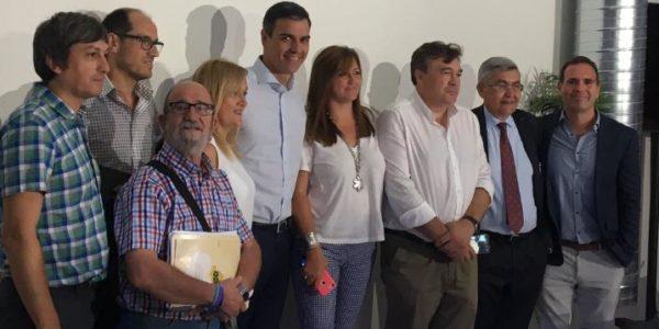 Pedro Sánchez escucha las demandas de la España Vaciada