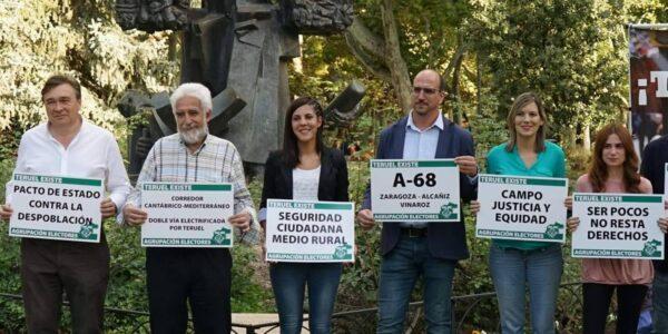 Presentación de Candidatos Agrupación de Electores de Teruel Existe