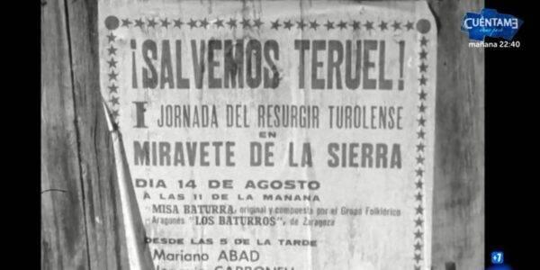Comando Actualidad TVE, el abandono total de la provincia de Teruel