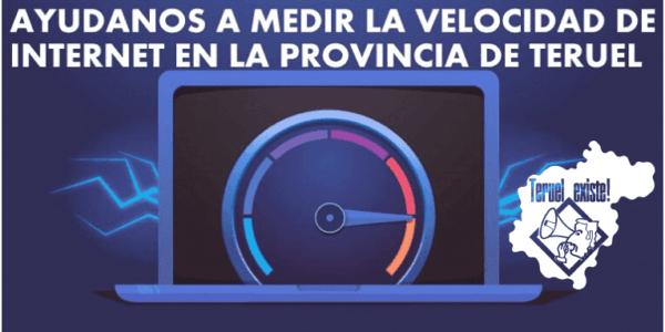 Test de velocidad de internet en la provincia de Teruel