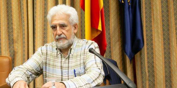 Manolo Gimeno expone en el Congreso las necesidades del sistema sanitario que plantea el Pacto por Teruel