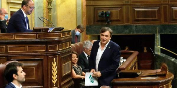 Guitarte destaca que el dictamen para la Reconstrucción tiene en cuenta reequilibrar la España Vaciada