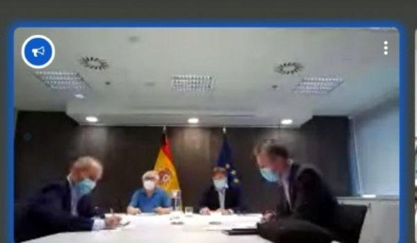 El Ministro de Universidades anuncia a Guitarte la creación en Alcañiz de un centro de la UNED, como se acordó en julio