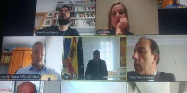 Guitarte se reúne con Pedro Sánchez: «las líneas de los presupuestos tienen en cuenta aspectos de nuestras reivindicaciones»