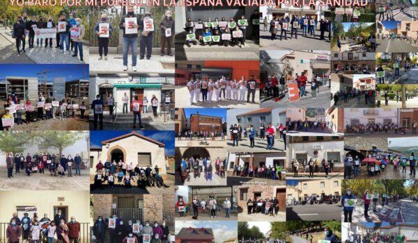 La coordinadora de la España Vaciada valora las más de 600 movilizaciones de Yo Paro por Mi Pueblo por la sanidad