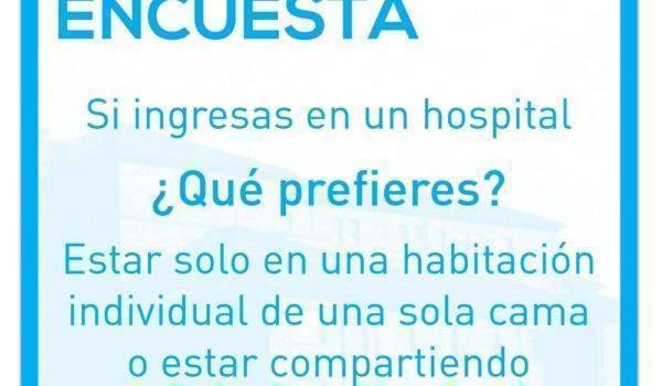 Encuesta sobre los Hospitales, para la provincia de Teruel