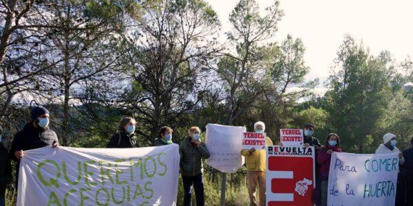 Teruel Existe plantea al Gobierno que la demolición de Los Toranes perjudicaría el desarrollo sociodemográfico del valle del río Mijares