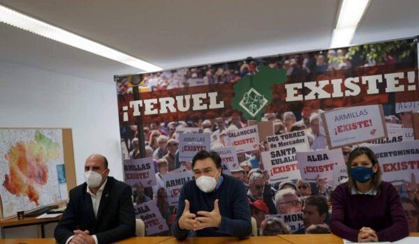 Teruel Existe pide que las energías renovables contribuyan, de verdad, al desarrollo de los territorios y respeten los paisajes
