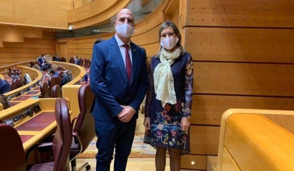 Teruel Existe reclama en el Senado que los ayuntamientos puedan invertir en 2022 sus remanentes