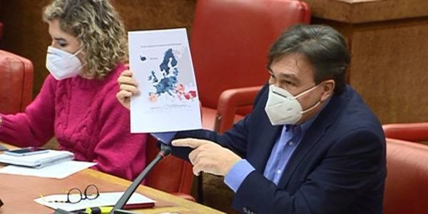 Teruel Existe plantea a Pedro Duque cerrar la brecha en ciencia con la España Vaciada y un centro de investigación sobre energías renovables en la central de Andorra