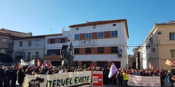 Teruel Existe contesta al alcalde de Andorra aclarando que avisaron del recurso y trabajan para el desarrollo de la provincia