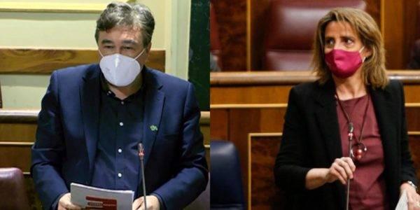 Teruel Existe pregunta a Ribera por el nuevo Plan y anuncia que la España Vaciada celebrará el 31 M frente al Congreso