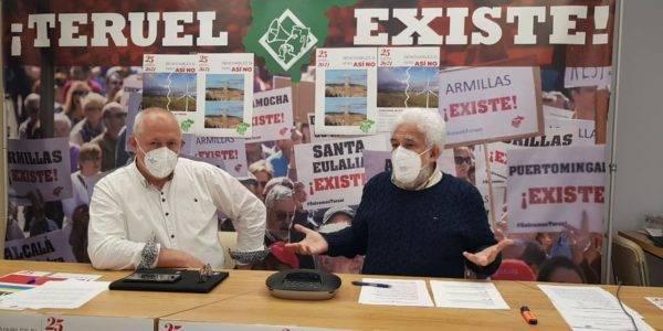 El Movimiento ciudadano Teruel Existe convoca una manifestación el 25 de abril por la avalancha de centrales de renovables