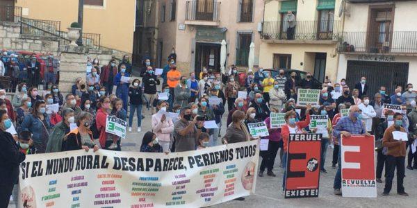 Teruel Existe instará al Gobierno a actuar para mantener las plazas de función pública en las zonas despobladas