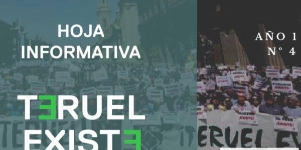 Mayo 2021. Hoja informativa de Teruel Existe nº4