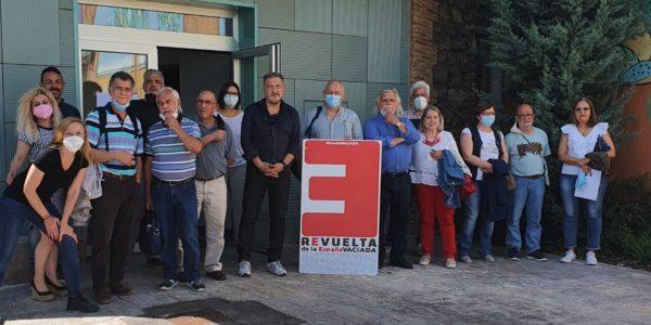 En la comarca del Aranda la España Vaciada realiza la primera presentación en Aragón del Modelo de Desarrollo