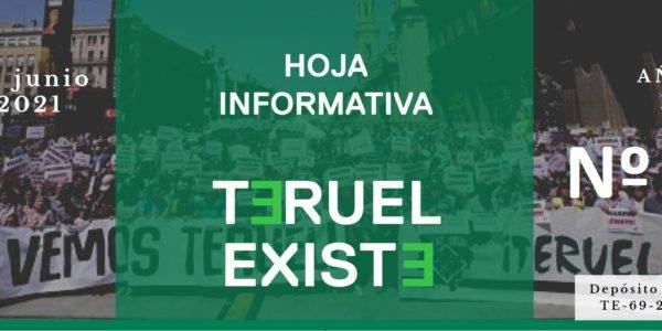 Hoja informativa de Teruel Existe nº 5. Junio 2021