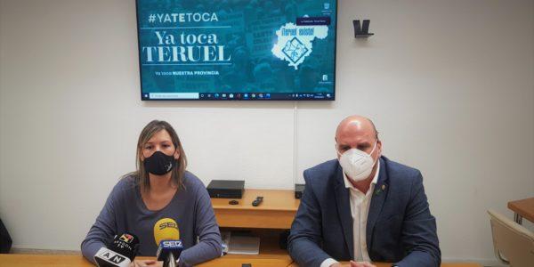 Teruel Existe en el Senado se suma al Grupo Democrático para que la provincia y la España Vaciada tengan más voz