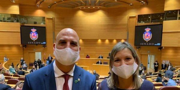 Los senadores de Teruel Existe serán portavoces en cuatro comisiones más: Transportes, Defensa, Derechos Sociales y ODS