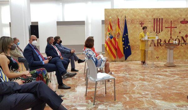 Teruel Existe, en la firma del FITE, valora que los proyectos estratégicos deberían llegar a todas las comarcas y no incluir inversiones propias de los presupuestos ordinarios de Aragón