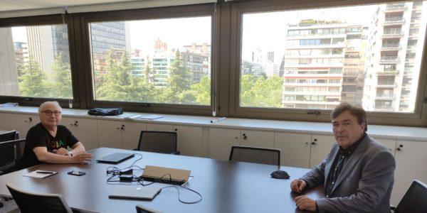 Guitarte se reúne con el Ministro de Universidades y continúan el trabajo en proyectos para Teruel y la España Vaciada