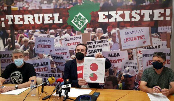 Teruel Existe denuncia ante la UE, el Justicia y el Defensor del pueblo la falta de un Plan para la implantación de renovables