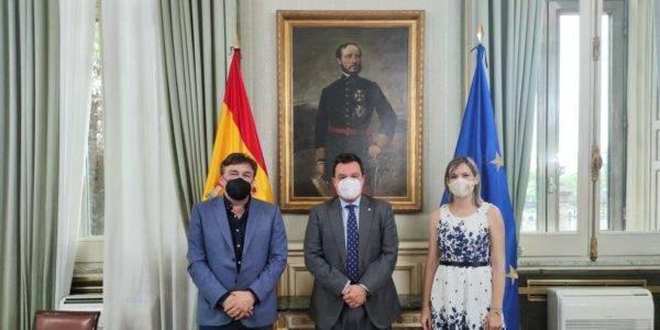 Teruel Existe se reúne con el Secretario de Estado de Política Territorial y Función Pública para afrontar el reequilibrio territorial