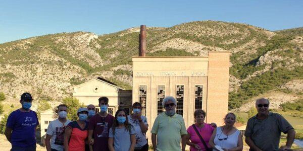 Teruel Existe presenta Power Experience en Aliaga, que podría liderar el proyecto y recuperar el teleférico del carbón