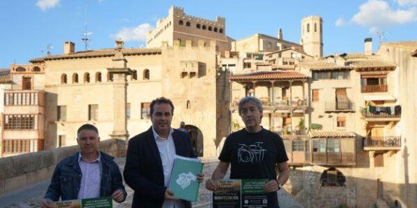 Teruel Existe presenta alegaciones a los proyectos eólicos del Matarraña y las cede a los colectivos de la comarca