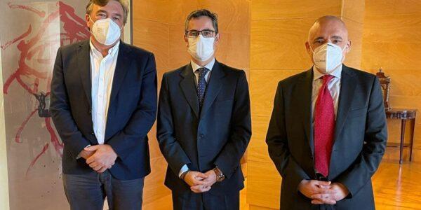 Teruel Existe se reúne con el Gobierno insistiendo en sus demandas antes de conocer los Presupuestos Generales del Estado