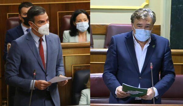 Sánchez responde a Guitarte que atenderá sus enmiendas a los PGE, destaca inversiones frente a la despoblación y ratifica la descentralización