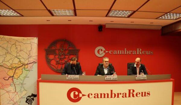 Teruel Existe y la Cámara de Comercio de Reus unen fuerzas para exigir la conversión de la N-420 en autovía, la prolongación de la A-40